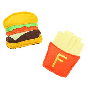 Felt Burger Potato