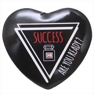 Heart-shaped Badge