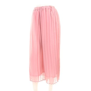 Chiffon Pleats wide pants