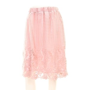 Panel Lace Gather Skirt
