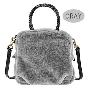 Ladies Wool Fur Shoulder Bag