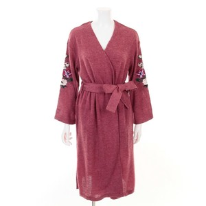 Flower Embroidery Robe