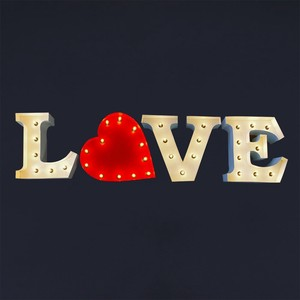 American HEART Light Wall Hanging Product Heart Objects