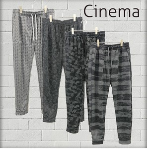 S/S Repeating Pattern Pants