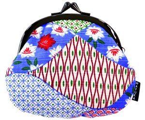"Japan ""Furoshiki"" Japanese Traditional Wrapping Cloth Fancy Goods Coin Purse Pouch Komon"
