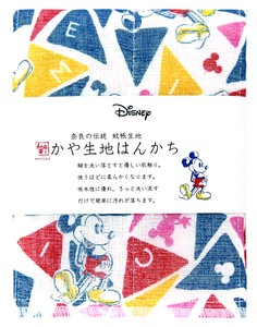 Japan Disney Fabric Handkerchief Triangle Mick