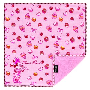 Japan Imabari Gauze Pile Handkerchief Minnie