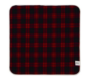 Japan Sakizome Handkerchief Checkered Caramel