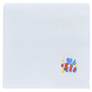 Japan Kitchen Towels Embroidery Clownfish