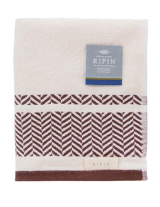pin Face Towel Brown