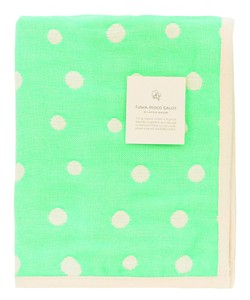 Japan Gauze Face Towel Green