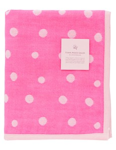 Japan Gauze Face Towel Pink