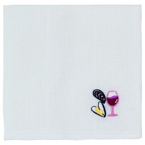Japan Kitchen Towels Embroidery Wine Steaming