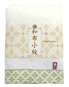 Japan Komon Bathing Towel Purple