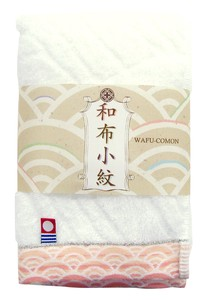 Japan Komon Face Towel Pink