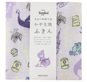 Japan Disney Fabric Kitchen Towels Rapunzel