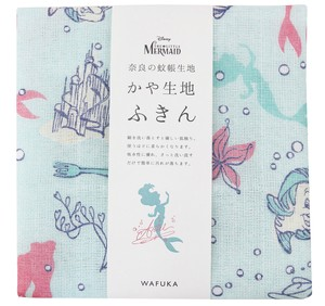 Japan Disney Fabric Kitchen Towels Ariel