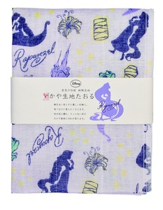 Japan Disney Fabric Towel Rapunzel