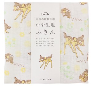 Japan Disney Fabric Kitchen Towels Friendly Bambi