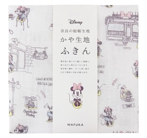 Japan Disney Fabric Kitchen Towels Minnie Date