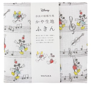 Japan Disney Fabric Kitchen Towels Musical Note