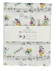 Japan Disney Fabric Towel Musical Note