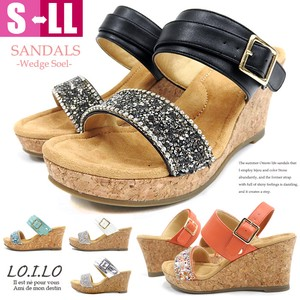 Bijou Attached Cork Sole Sandal