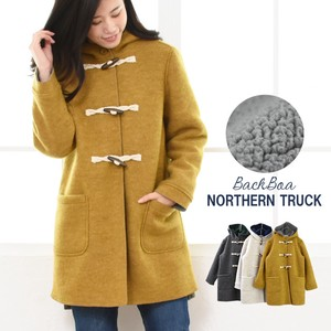 Duffle Coat Fleece With Hood