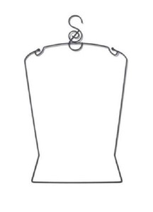 Apron Clothes Hanger