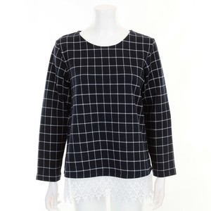 Checkered Jacquard Lace Tunic