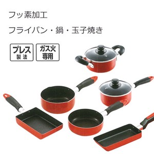 Exclusive Use Frying Pan Egg Pan PEARL KINZOKU Fluorine Processing Compact