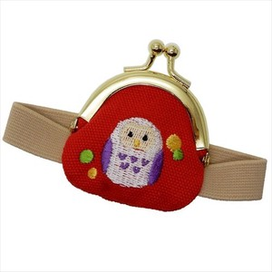 Coin Purse Owl Band Attached Series