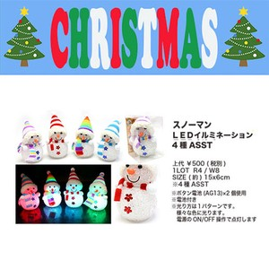 Snowman Illumination Christmas Display Decoration