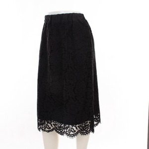 Flower Lace Line Skirt