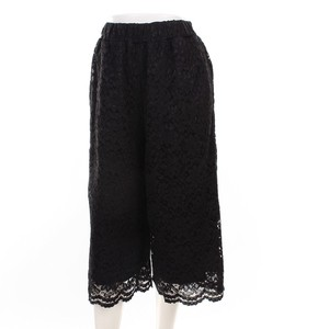 Lace wide pants