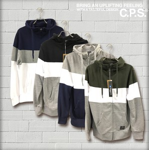 S/S 3 Steps Switching Fleece Hoody