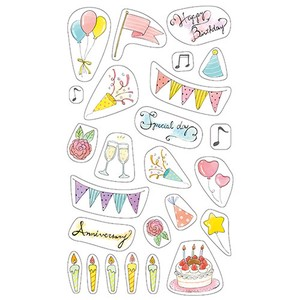 Masking SEAL Birthday Decoration SEAL Japan