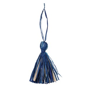 Tassel Blue 3 Pcs