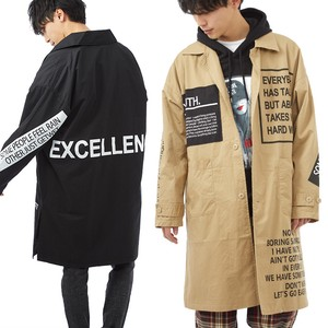 S/S Men's Decoration Long Over Coat Jacket