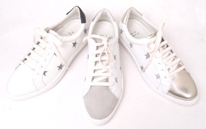 Leather Star Lace Sneaker