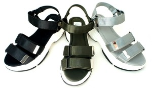 Form Objects and Ornaments Ornament Black Sport Sandal Sole Belt Design