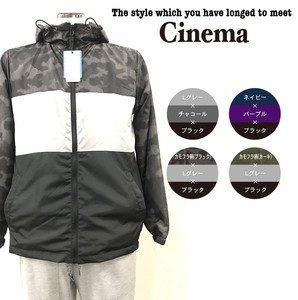 Men's S/S Mesh 3 Steps Switching Hoody Blouson