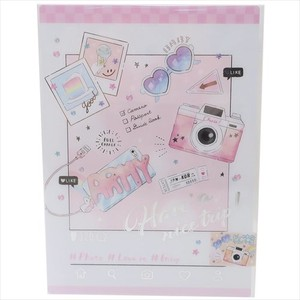 Stationery plastic sheet Silver Foil Push