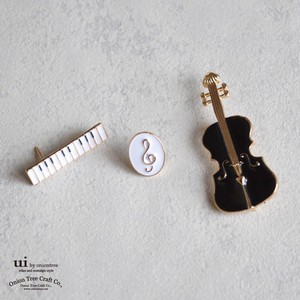 Brooch Music Instrument Set Set Violin pin