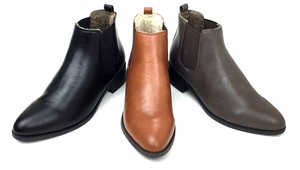 Boots Inside Warm Material Use Heel