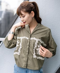 potpourri Embroidery Shirt Pullover