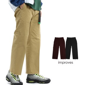Chino Pants Men's wide pants Ankle Pants Tapered Pants Cut