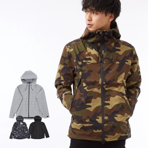 S/S Men's Water-Repellent Stretch Material Mountain Hoody