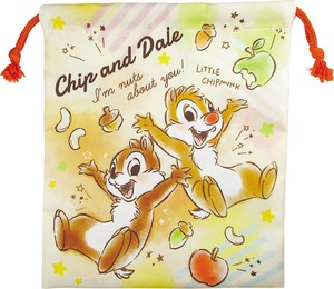 Disney With gusset Lunch Pouch Chip 'n Dale