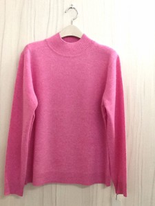 Cashmere Plain High Neck Knitted Pullover